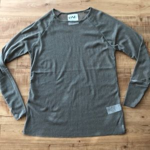 ONE teaspoon, brand new long sleeve net shirt